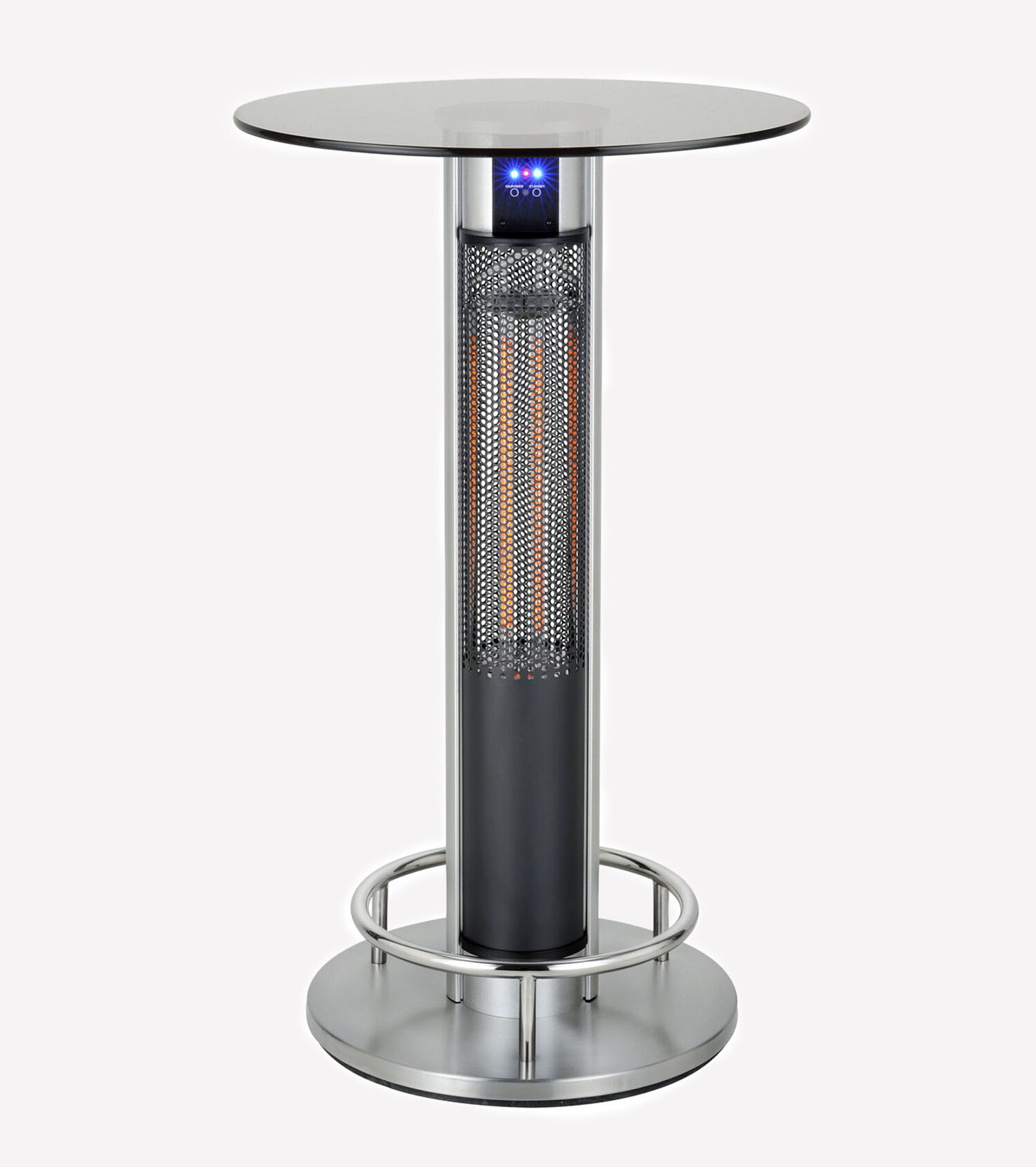 Electrical heating table